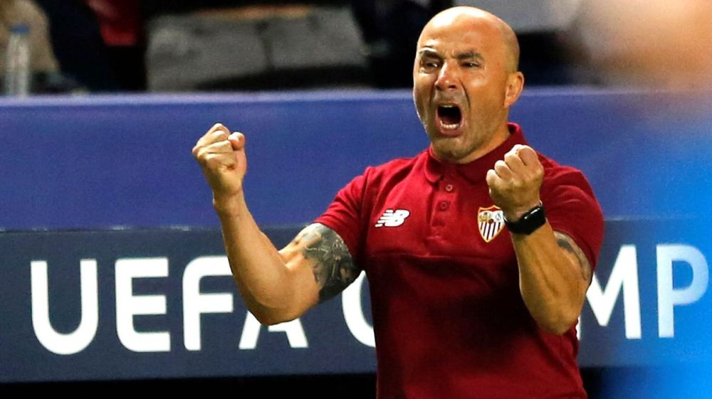 Jorge Sampaoli > técnico del Sevilla FC